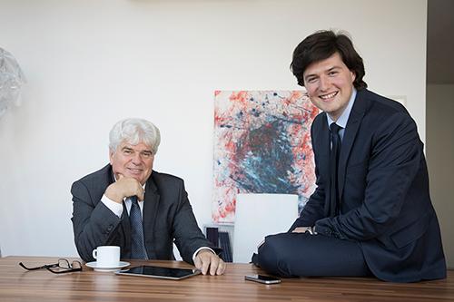 Josef Wegenberger und Oliver Wegenberger